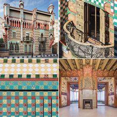 Casa Vicens de Gaudi à Barcelone