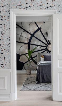 Bedroom Wallpaper, Wallpaper Ideas, Scandinavian Bedroom, Bedroom Vintage, Custom Wall, Wall Murals, Rebel, Everything, Walls