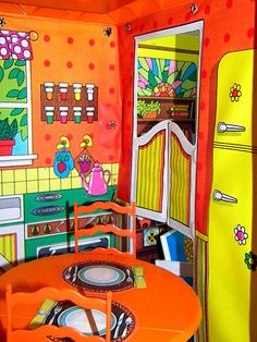 Vintage 1969 Barbie Country Living Home & Furniture3   Flickr - Photo Sharing!