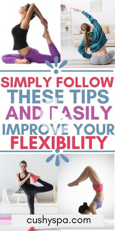 Fitness Workout For Women, Yoga Fitness, Fitness Tips, Flexibility Tips, Flexibility Workout, Yoga Pictures, Yoga Motivation, Health Tips For Women, Restorative Yoga