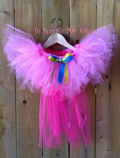 Pinkie Pie Inspired Tutu/ My Little Pony Inspired Tutu /Rainbow Tutu/Elastic Waistband by TURunTUPlayTutus on Etsy Rainbow Tutu, Pinkie Pie, My Little Pony, Jay, My Etsy Shop, Inspired, Inspiration, Torte, Biblical Inspiration
