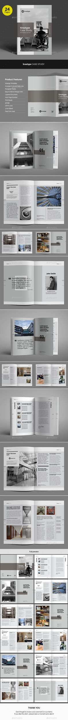Case Study Template I Flyer  Print Templates Case Study And