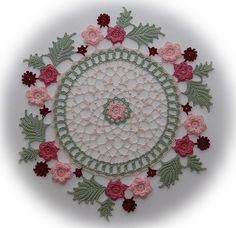 Wreath of Roses by Kathryn White. Isn't this yummy??!!