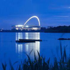 Sir Norman Foster and Ken Shuttleworth's Wembley Stadium, London Soccer Stadium, Stadium Tour, Wembley Stadium, Football Stadiums, Norman Foster, England Uk, London England, Foster Partners, National Stadium