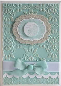 Handmade greeting card.