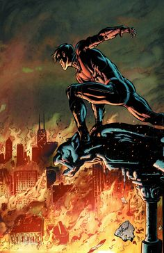 Nightwing #24 (Virgin Cover) #Nightwing #New52 #DC (Cover Artist: Will Conrad) On Sale: 10/9/2013