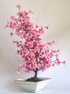 Bonsai Cerejeira Rosa | NICE FLOWERS | Elo #bonsai Cerejeira Rosa | NICE FLOWERS | Elo7