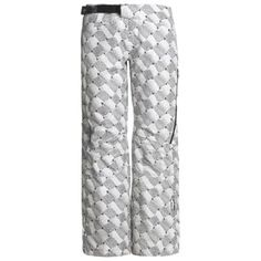 Sunice Volante Gore-Tex® Snow Pants - Waterproof, Insulated (For Women) in White Dragon Print