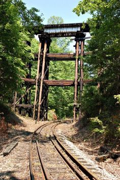 OLD ABANDONED RAILROAD