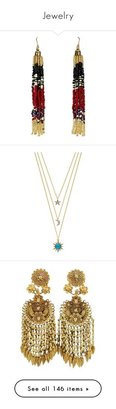 """""""Jewelry"""" by aylin-schroeder on Polyvore featuring jewelry, earrings, new look, beading earrings, tassel earrings, multicolor earrings, multi color earrings, red jewelry, necklaces und accessories"""