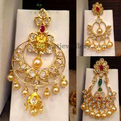 Jewellery Designs: Chaand Balis 20 Gms Each Pair