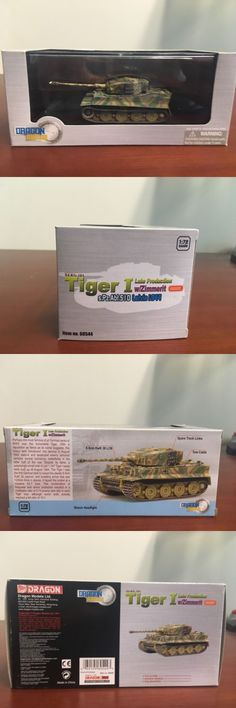 Tanks and Military Vehicles 171138: Dragon Armor 1:72 Tiger I, Spzabt.510, Latvia 1944, No. 60544 -> BUY IT NOW ONLY: $60 on eBay!