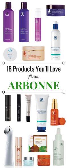 Just some arbonne essentials