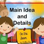 Have fun on the farm while learning with this set of main idea nd details teaching pages and student practice pages! Your students will have a hay ...