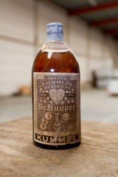 A very old De Kuyper Kummel!