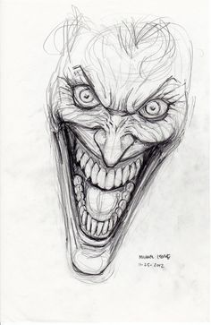 Joker Drawings   Joker Drawing Pictures