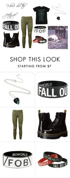 """""""Where did the party go?"""" by xxspooky-scary-danixx on Polyvore featuring Current/Elliott and Dr. Martens"""