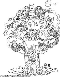 Bird Coloring Page 22
