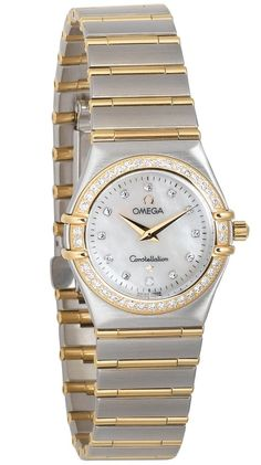 Omega Women's 1277.75.00 Constellation Diamond Watch