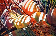 Gallery 5 Tropical Treasures Watercolor Artists, Watercolor Flowers, Watercolor Paintings, Watercolors, Floral Paintings, Great Paintings, Beautiful Paintings, Beach Paintings, Tropical Wall Decor