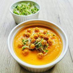 Édesburgonyás répakrémleves naranccsal | Vegán Blog - Vegán receptek, receptkönyv, blog Curry, Ethnic Recipes, Blog, Curries, Blogging