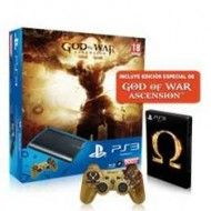 CONSOLA SONY PS3 500GB + GOD OF WAR ASCENSION EDICION ESPECIAL + DUALSHOCK3 GOW