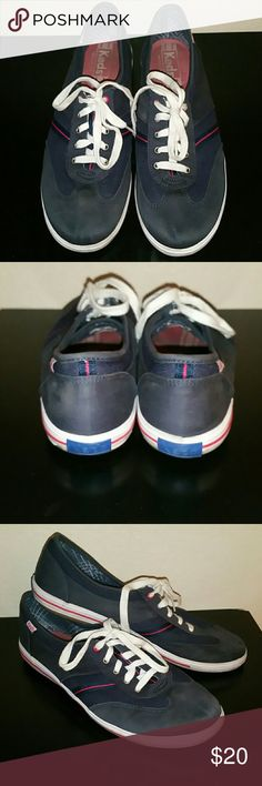 Blue Keds Sneakers Gently used, still like new condition, no holes or stains. Keds Shoes Sneakers