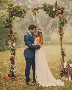 #inpiracaodesegunda  Muito amor no estilo boho!  #boho #bohowedding #bride #noiva #noivinhases #amor #love #allyouneedislove