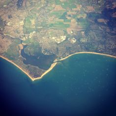 Mudeford quay & hengistbury head Holiday Essentials, Bournemouth, Places Of Interest, Geography, Airplane View, Countryside, Britain, City Photo, Coast
