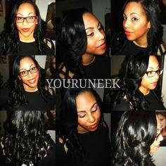 Full sewin curls layers