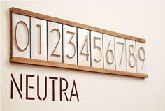 neutra-numbers from Heath Ceramics (+House Ind)