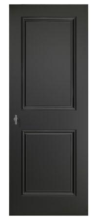 Piet Boon (lijstjes op de deur plakken en deur zwart schilderen) ook 'n idee 💡
