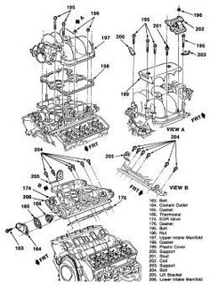 2004 chevy 4 3 vortec engine diagram. i have a 99 chevy blazer with a 4 3  vortex just installed. i have a 1992 chevy silver… | chevy, chevy  trailblazer, engineering  pinterest