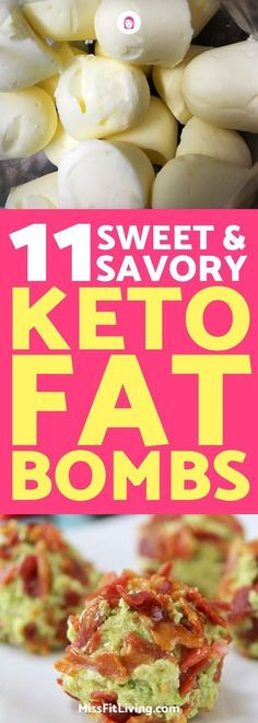 Fat bombs are a great way to reach your macros when doing keto. They can also help kill that sweet tooth.