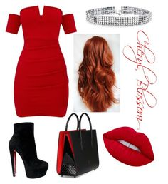 """Cheryl Blossom ❤"" by karahamill ❤ liked on Polyvore featuring Christian Louboutin, Bling Jewelry and Lime Crime Tv Show Outfits, Komplette Outfits, Kpop Fashion Outfits, Girls Fashion Clothes, Cute Casual Outfits, Girly Outfits, Cute Fashion, Look Fashion, Stylish Outfits"
