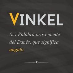 """¡El significado de nuestro nombre!  Elegimos """"ángulo"""" como el nombre de nuestra empresa ya que, como lo dice nuestro eslogan, en Vinkel Mkt buscamos mostrarte a tu empresa, mercado y consumidores, desde otro ángulo.  ¡Que tengan un excelente día!"""