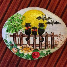 #handmade #elişi #elyapımı #catlover #instakedi #catlover #kedi #taşboyama #vsco #vscocam #popular #portakalcicegimoda