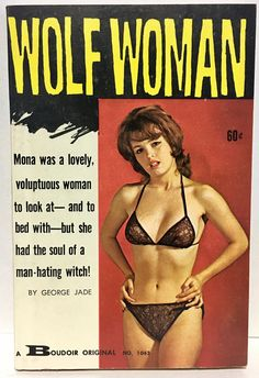 """Another awesome Sleaze paperback from the Golden Age! """"Mona was a lovely, voluptuous woman to look at - and to bed with - but she had the soul of a man-hating witch!"""". DO NOT DUPLICATE OR COPY! 
