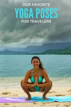 Yoga poses for travelers that help you loosen up and relax after a grueling journey, so that you can spend less time feeling like you've been hit by a bus and more time exploring your new destination!