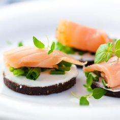 Sandwich RECIPES AND IMAGES   Salmon tea sandwiches are some of my favorite sandwiches ever. They ...