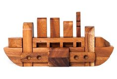 The Boat Puzzle, Wood