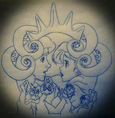 Disney Tattoo Design #3 by IcyRose13.deviantart.com on @deviantART