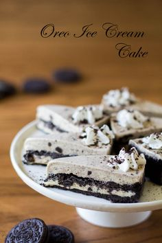 My Oreo ice cream cake is so decadent and rich, thanks to double layers of buttery soft cookie crust and creamy sweet ice cream. Pure goodness!