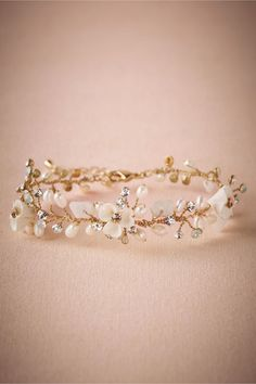 BHLDN Morning Dew Bracelet in  Bridesmaids Bridesmaid Jewelry at BHLDN