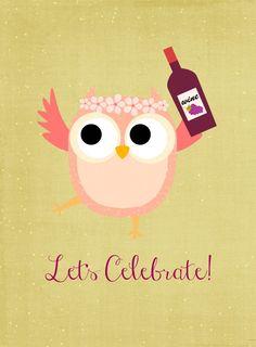Let's Celebrate Printable