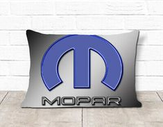 Mopar Logo Wallpaper Pillow Case #fashion #home #garden #homedcor #pillows (ebay link)
