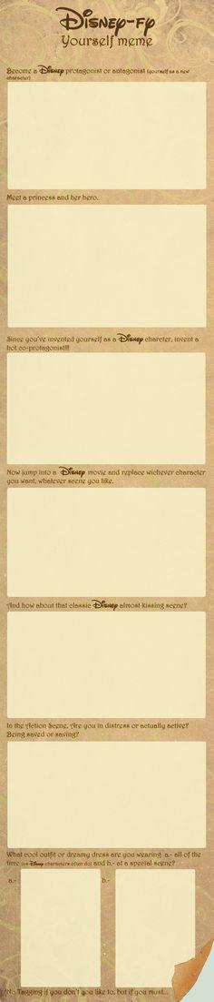 Disney-fy yourself meme by palnk.deviantart.com on @deviantART