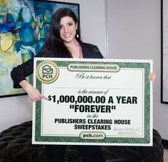 "Danielle says In less than 5 seconds comment below with the first word you think of when you hear the word LEGACY. $1 Million A Year for the life of the winner plus the chance to pass on $1 Million A Year for life to someone else after that too! How many of you would LIKE to win that on 2/28?! www.pch.com ‪#‎PCH‬ ‪#‎LEGACY‬.........""Pin"" if you want to #Win (Smiles)"