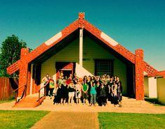Lynmore teachers in noho marae in Maketu Teacher, Maori, Professor
