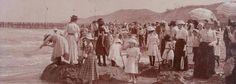 Strand Domburg 1904 fortenwedstrijd